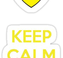 Keep Calm Love Ferrari Sticker
