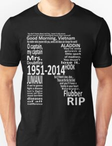 RIP Robin Williams - Tribute T-Shirt