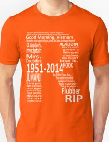 RIP Robin Williams - Tribute T-Shirt