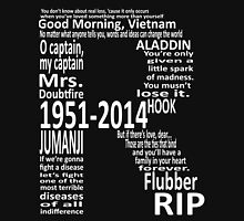 RIP Robin Williams - Tribute Unisex T-Shirt