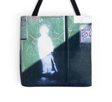Charlie Chaplin Graffiti Tote Bag
