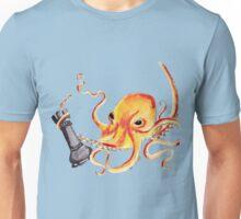 An Octopus Fighting a Rook Unisex T-Shirt