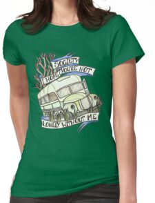 """Into the Wild """"Society"""" Womens Fitted T-Shirt"""