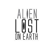 alien lost on earth Photographic Print