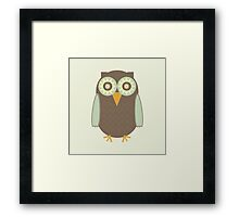 Brown Owl Framed Print