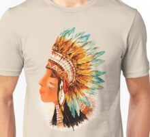 Native American Indian Shief  Unisex T-Shirt