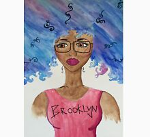 Brooklyn Girl Mens V-Neck T-Shirt