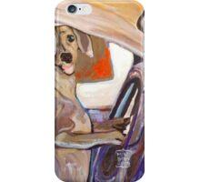 Dog Driving iPhone Case/Skin