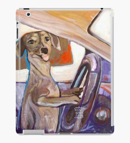 Dog Driving iPad Case/Skin