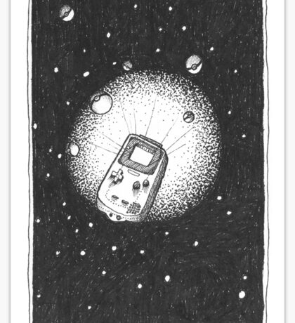 Deep Space Boy Sticker