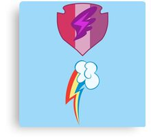 My little Pony - Scootaloo + Rainbow Dash Cutie Mark V2 Canvas Print