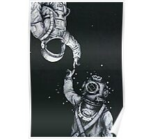 astronaut iphone case Poster