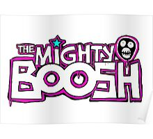 Mighty Boosh Logo, Colourful, Funky, Funny Poster