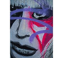 Graffiti woman Photographic Print