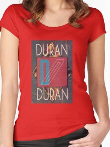 Duran Duran Logo 3 palimas Women's Fitted Scoop T-Shirt