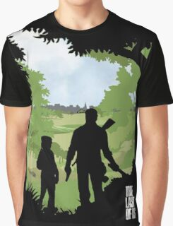 The Last of Us into the woods Graphic T-Shirt