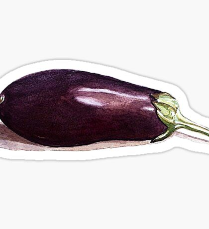 Why not eggplant? Sticker