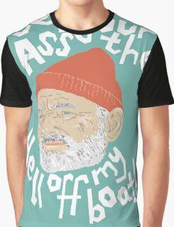 Steve Zissou Life Aquatic Graphic T-Shirt