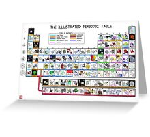 The Illustrated Periodic Table Greeting Card