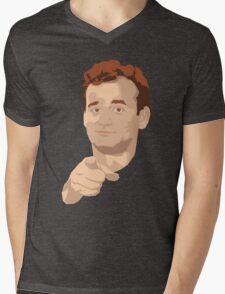 Bill F'in Murray Mens V-Neck T-Shirt