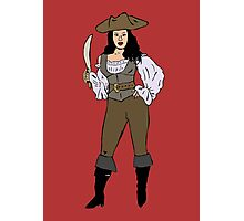 Lady pirate Photographic Print