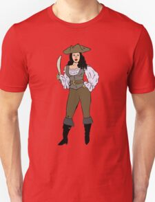 Lady pirate Unisex T-Shirt