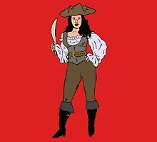 Lady pirate Unisex T-Shirt