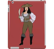 Lady pirate iPad Case/Skin