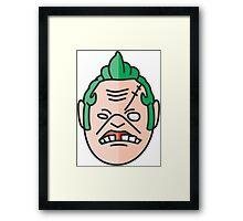 Pudge Dota Framed Print