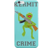 Kermit Crime iPhone Case/Skin