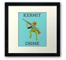 Kermit Crime Framed Print