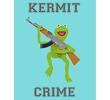Kermit Crime Photographic Print