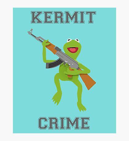 Kermit Crime Photographic Print