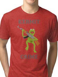 Kermit Crime Tri-blend T-Shirt
