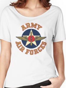 Army Air Forces Emblem  Women's Relaxed Fit T-Shirt