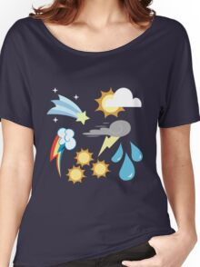 My little Pony - Weather Team Cutie Mark Special Women's Relaxed Fit T-Shirt