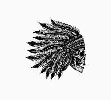 Native Headdress Skull Unisex T-Shirt