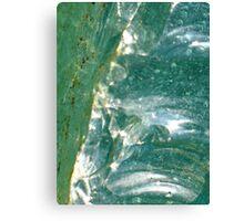 Glass - JUSTART © Canvas Print