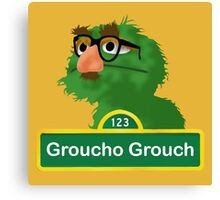 Groucho the Grouch Canvas Print