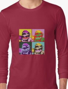 Wario Warhol Long Sleeve T-Shirt