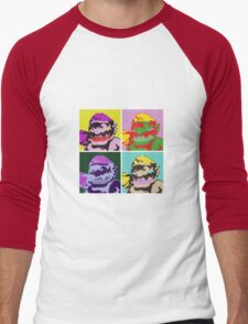 Wario Warhol Men's Baseball ¾ T-Shirt