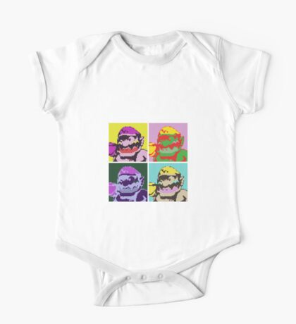Wario Warhol One Piece - Short Sleeve