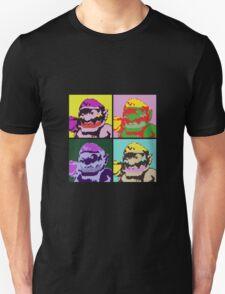 Wario Warhol Unisex T-Shirt