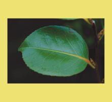 Green leaf Baby Tee