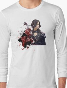 Nyssa al ghul Long Sleeve T-Shirt