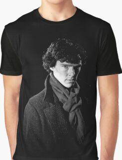 Sherlock Holmes portrait Graphic T-Shirt