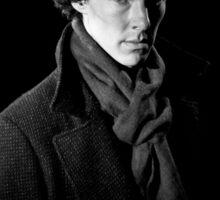 Sherlock Holmes portrait Sticker