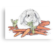 Don't Forget Your Vegetables Canvas Print