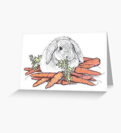 Don't Forget Your Vegetables Greeting Card