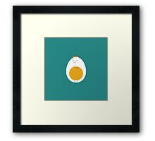 History of egg Framed Print